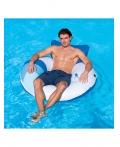 Плавательный круг с подушкой BestWay 43087B Диаметр 119 см