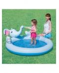 """Детский игровой бассейн """"Слон"""" BestWay 53034B Размер: 168 х 152 х 66 см"""