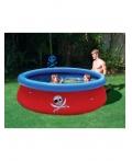 """Детский надувной бассейн с 3D аппликацией """"Пираты"""" BestWay 57243 Размер: 274 х 76 см"""
