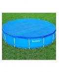 Защитное покрытие на бассейн BestWay 58134 Диаметр: 4,57 м. Для каркасных бассейнов