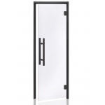 Дверь для паровых бань Andres  PREMIUM Black