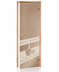 Дверь для сауны Andres (SDD-5)