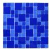 Мозаика стеклянная Aquaviva Cristall Dark Blue DCM305