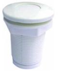 Кнопка для гидромассажа резьбовая Emaux EM1845 White